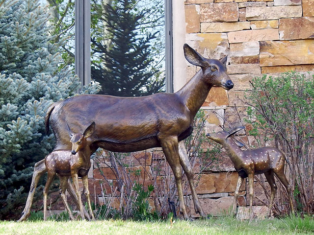David R. Nelson - Colorado Artist and Sculptor - Bronze Wildlife Sculptures