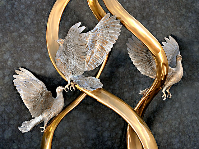 David R. Nelson - Colorado Artist and Sculptor - Bronze Dove Sculptures